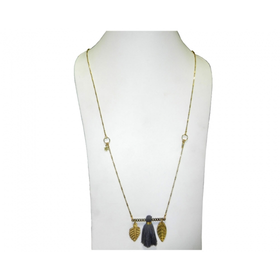 Beads India Nugget Gold 23102016 Necklace