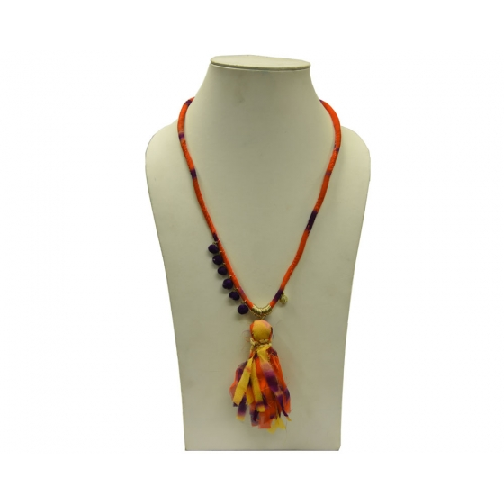 Beads India Firecraker 09112016 Necklace