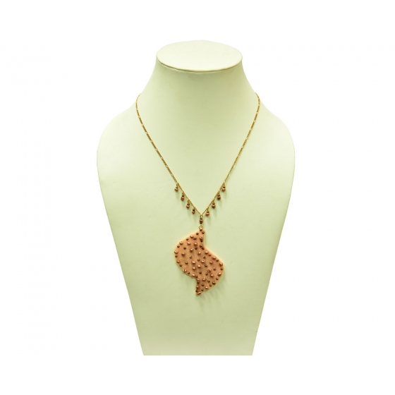 Beads India Peach Nougal 1404378 Necklace