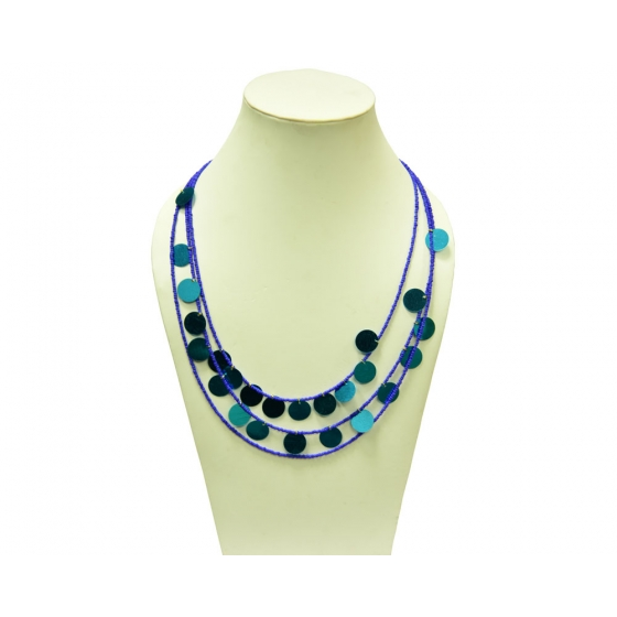 Beads India Snorkel Blue  1404383 Necklace