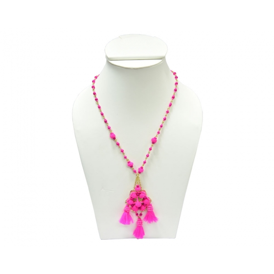 Beads India Magenta 1404409 Necklace