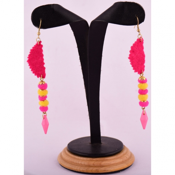 Beads India Caramine Rose 1404424 Earrings