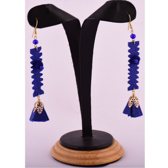 Beads India Twilight Blue 1404430 Earrings