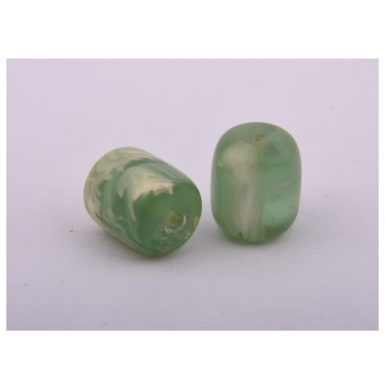 Beads India 1700035  Handcrafted Resin Beads/Discounts Above 500 pcs