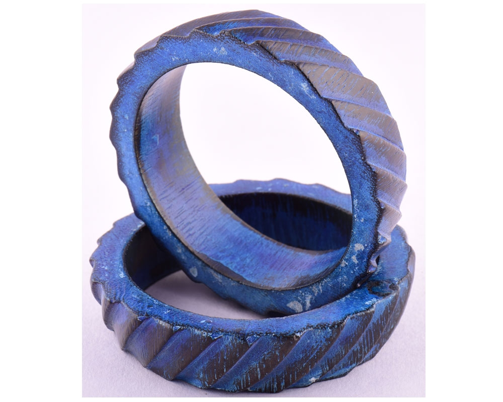 Beads India Olympain Blue 1402040 Bangle Set