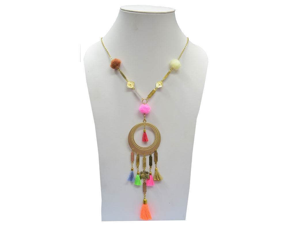 Beads India Antelope 03112016 Necklace