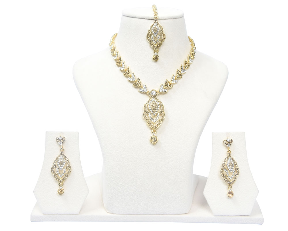 Beads India Sauterne Necklace Set 290916