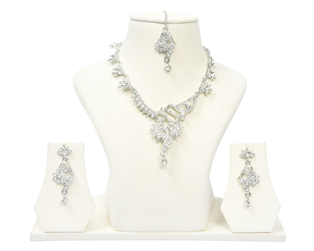 Beads India Egret Necklace Set 031016