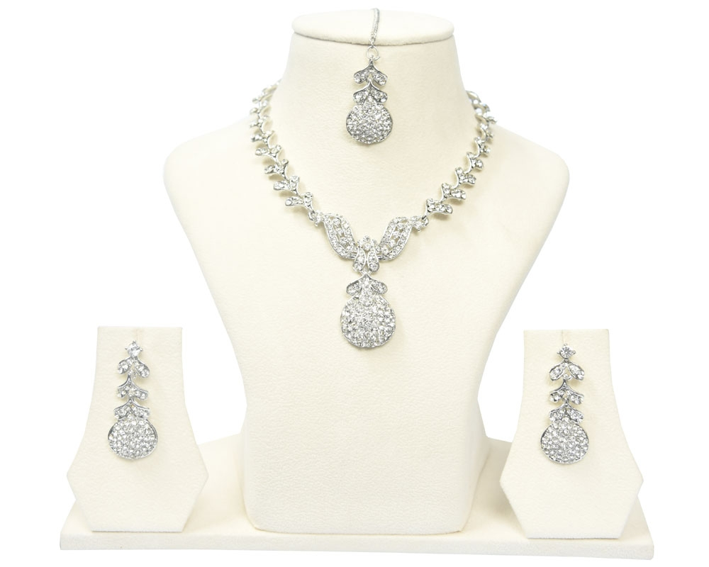 Beads India Sandshell Necklace Set 290916
