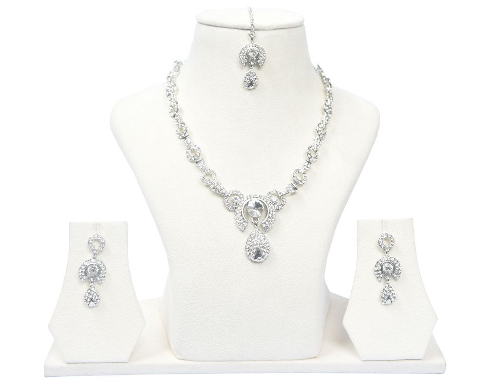 Beads India Moonbeam Necklace Set 290916