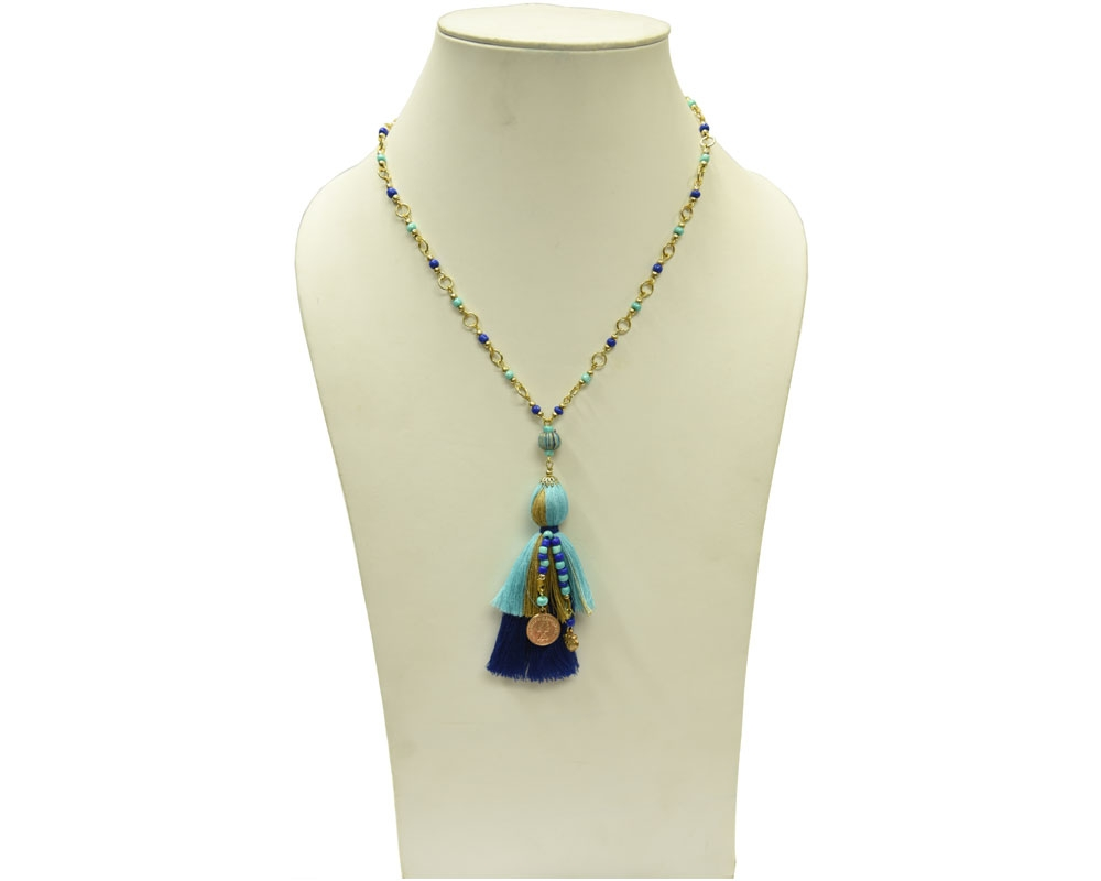 Beads India  Limoges 12112016 Necklace
