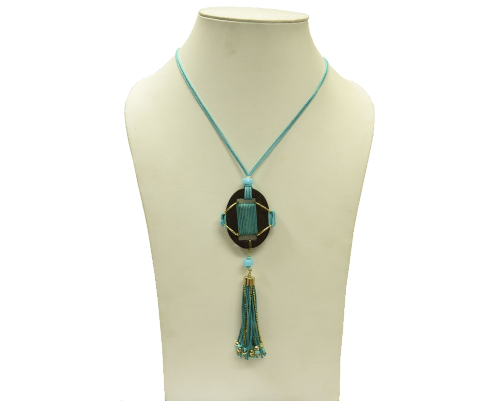 Beads India Blue Radiance 12112016 Necklace