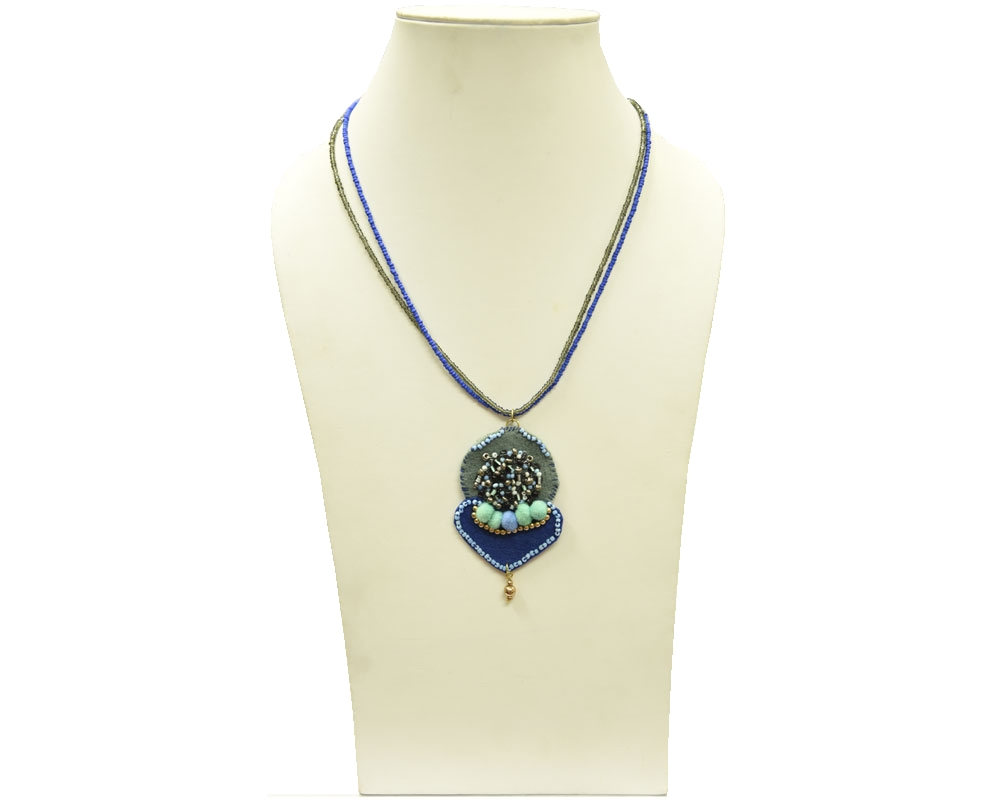 Beads India True Blue 16112016 Necklace
