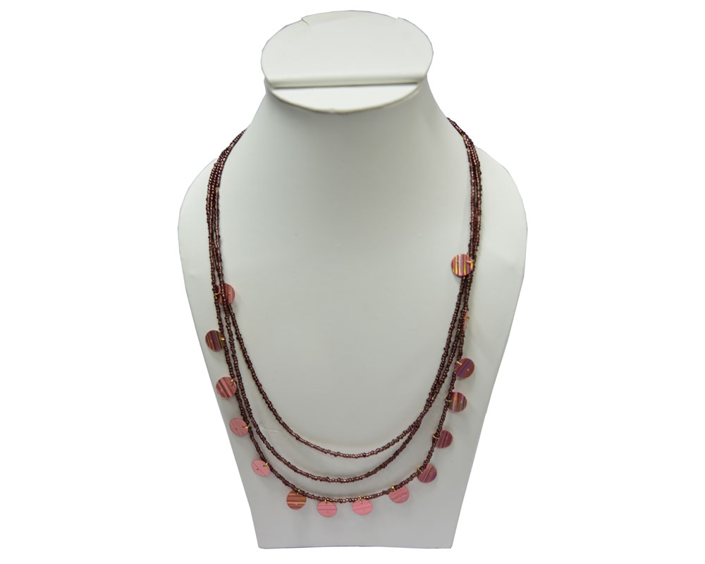 Beads India Amber Brown 1404401 Necklace