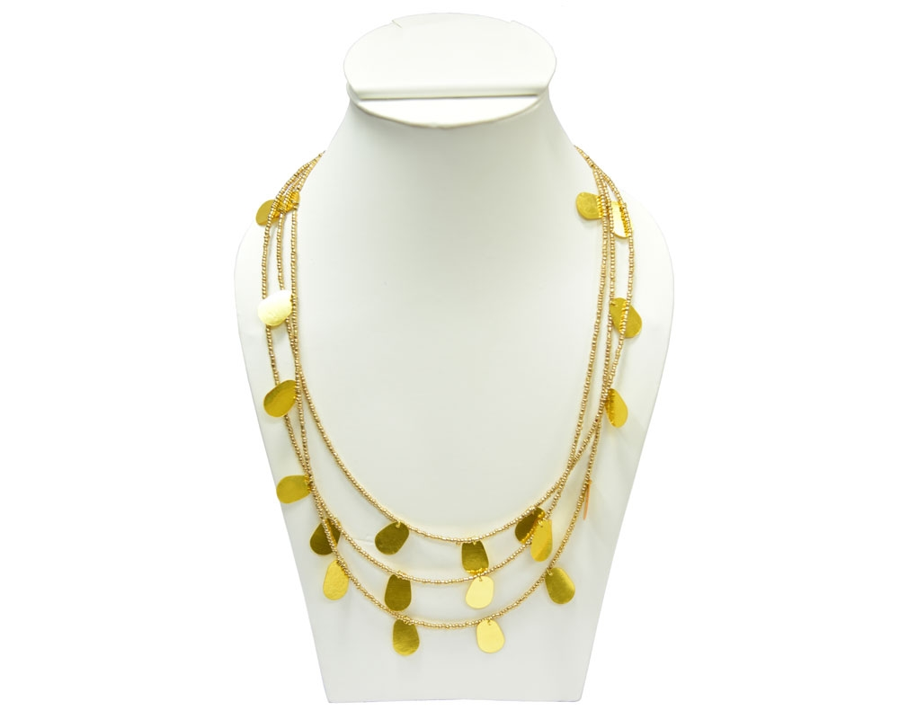 Beads India Artisan's Gold 1404405 Necklace
