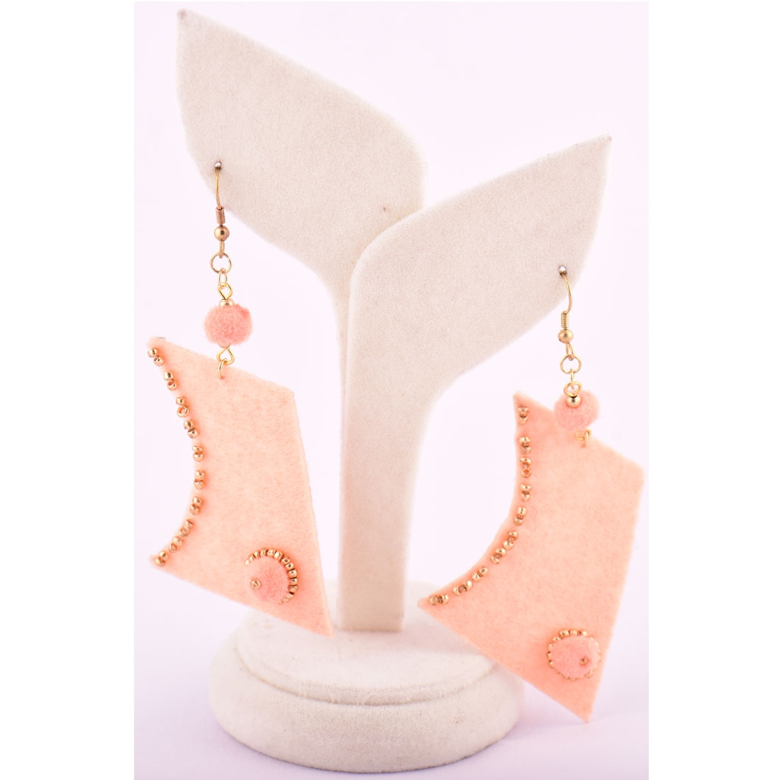 Beads India Beach Sand 1404417 Earrings