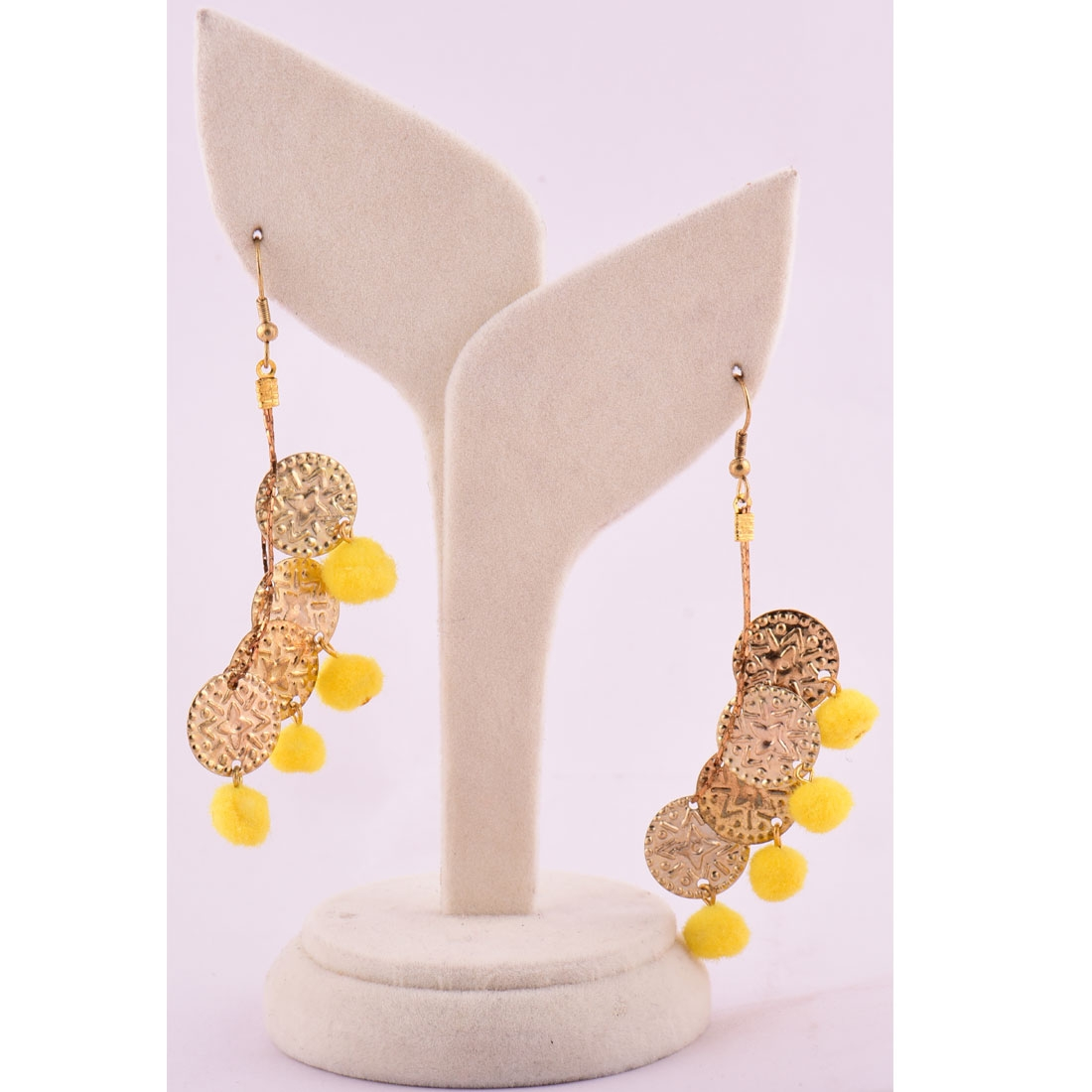 Beads India Blazing Yellow 1404446 Earrings