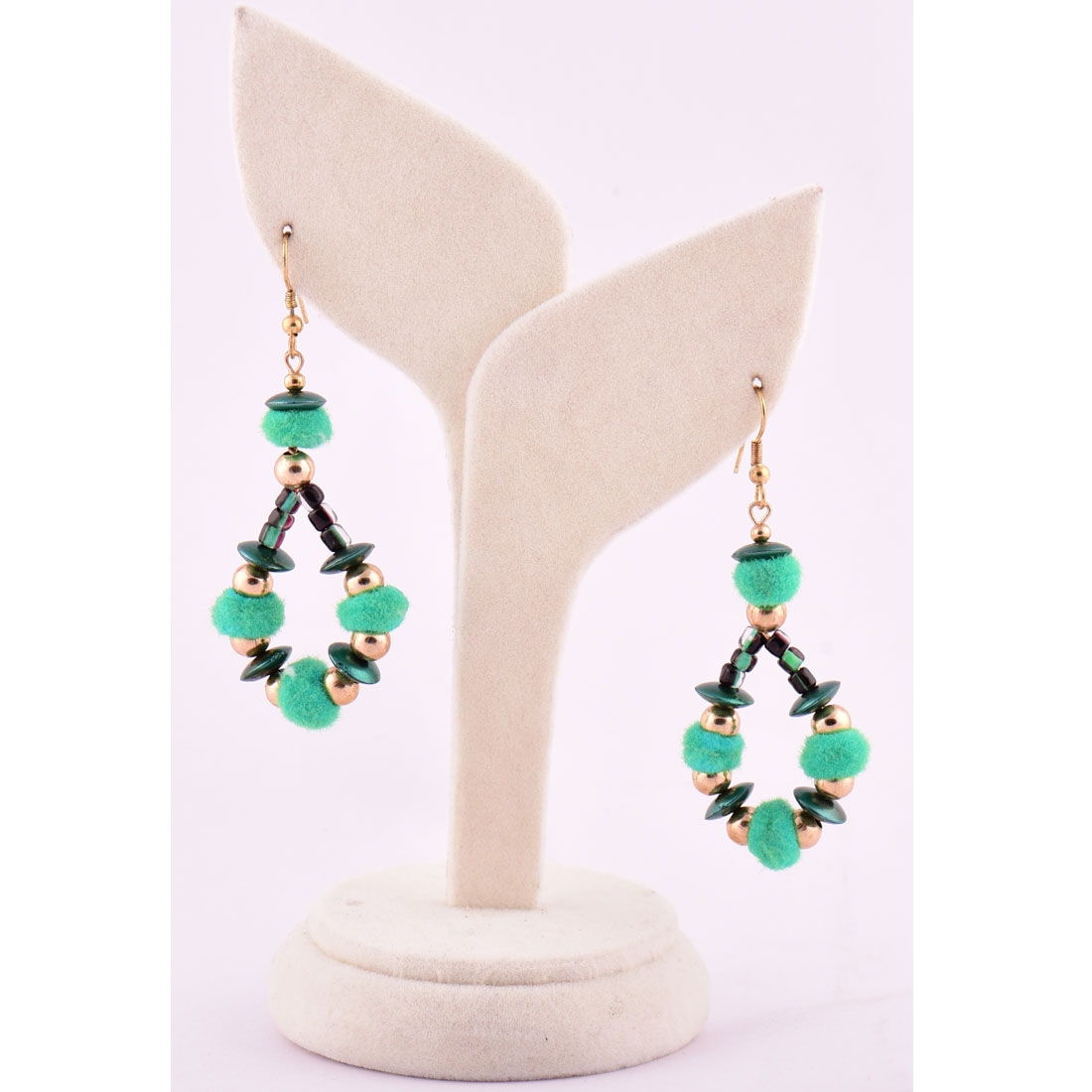 Beads India Blarney 1404448 Earrings
