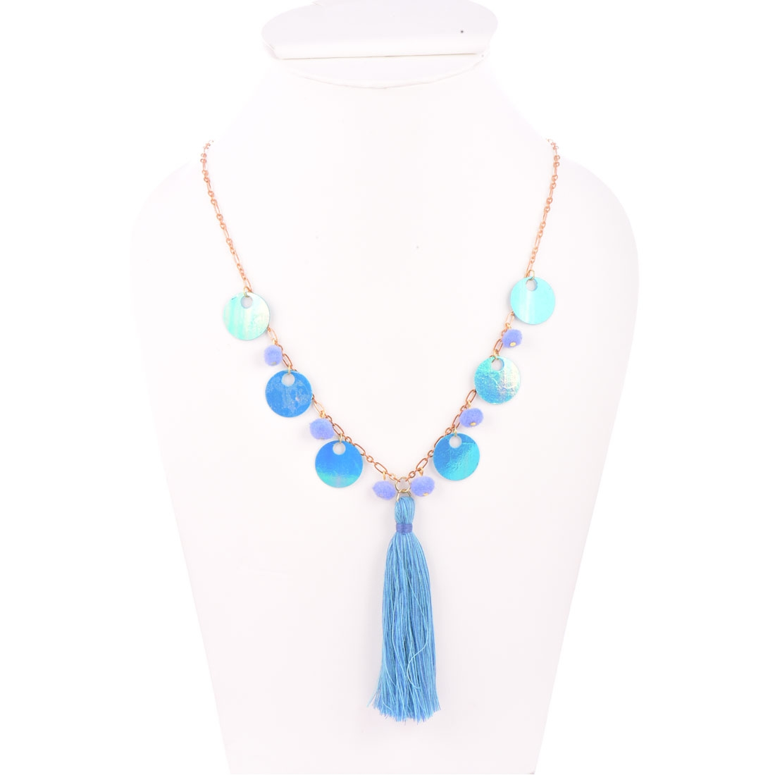 Beads India Alaskan Blue 1404465 Necklace