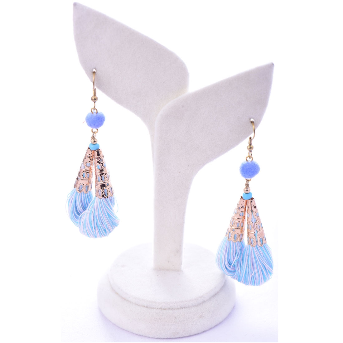 Beads India Aquamarine 1404492 Earrings