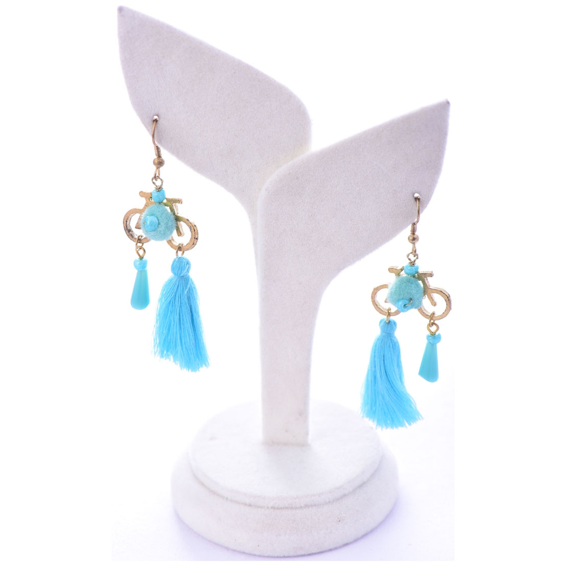 Beads India Bechelor Button 1404505 Earrings