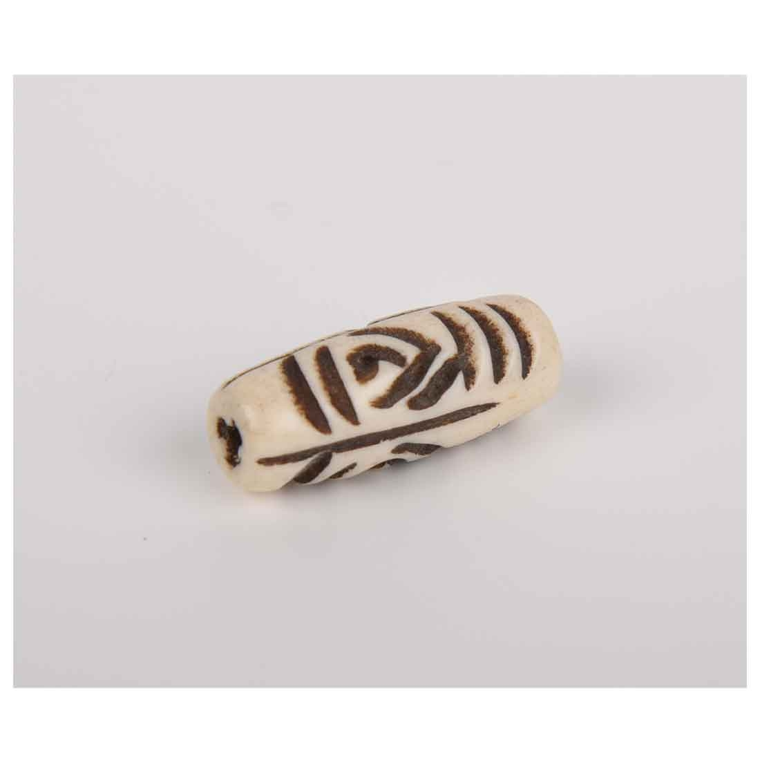 Beads India 1700008 Handcrafted Bone Beads/Discounts Above 500 pcs