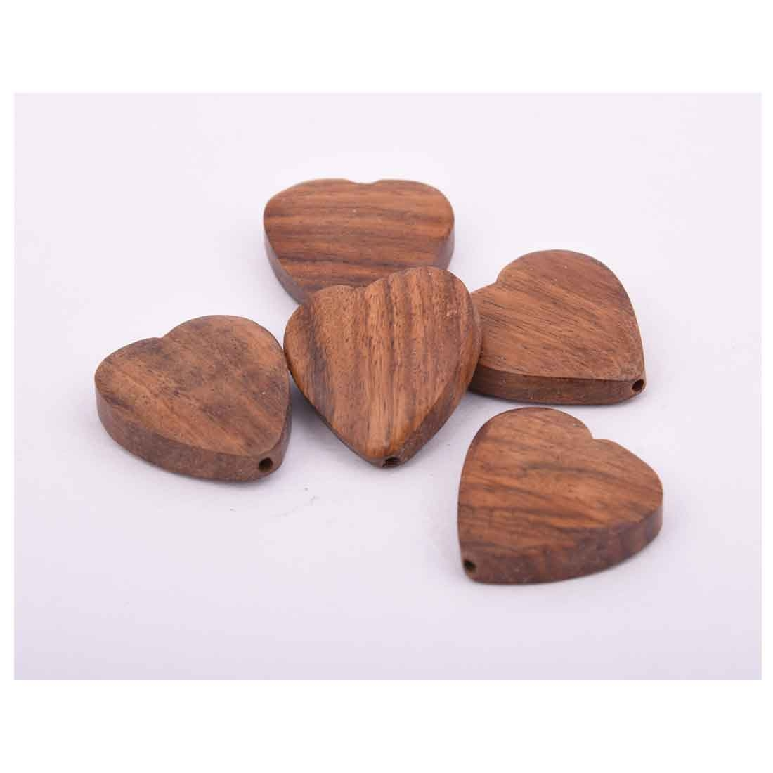 Beads India 1700014 Handcrafted Wooden Beads/Discounts Above 500 pcs