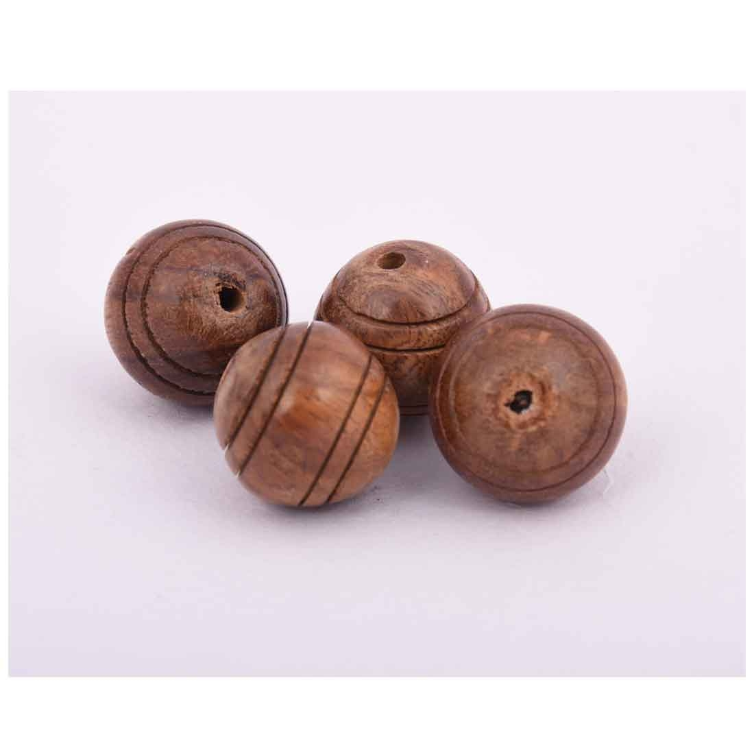 Beads India 1700015 Handcrafted Wooden Beads/Discounts Above 500 pcs