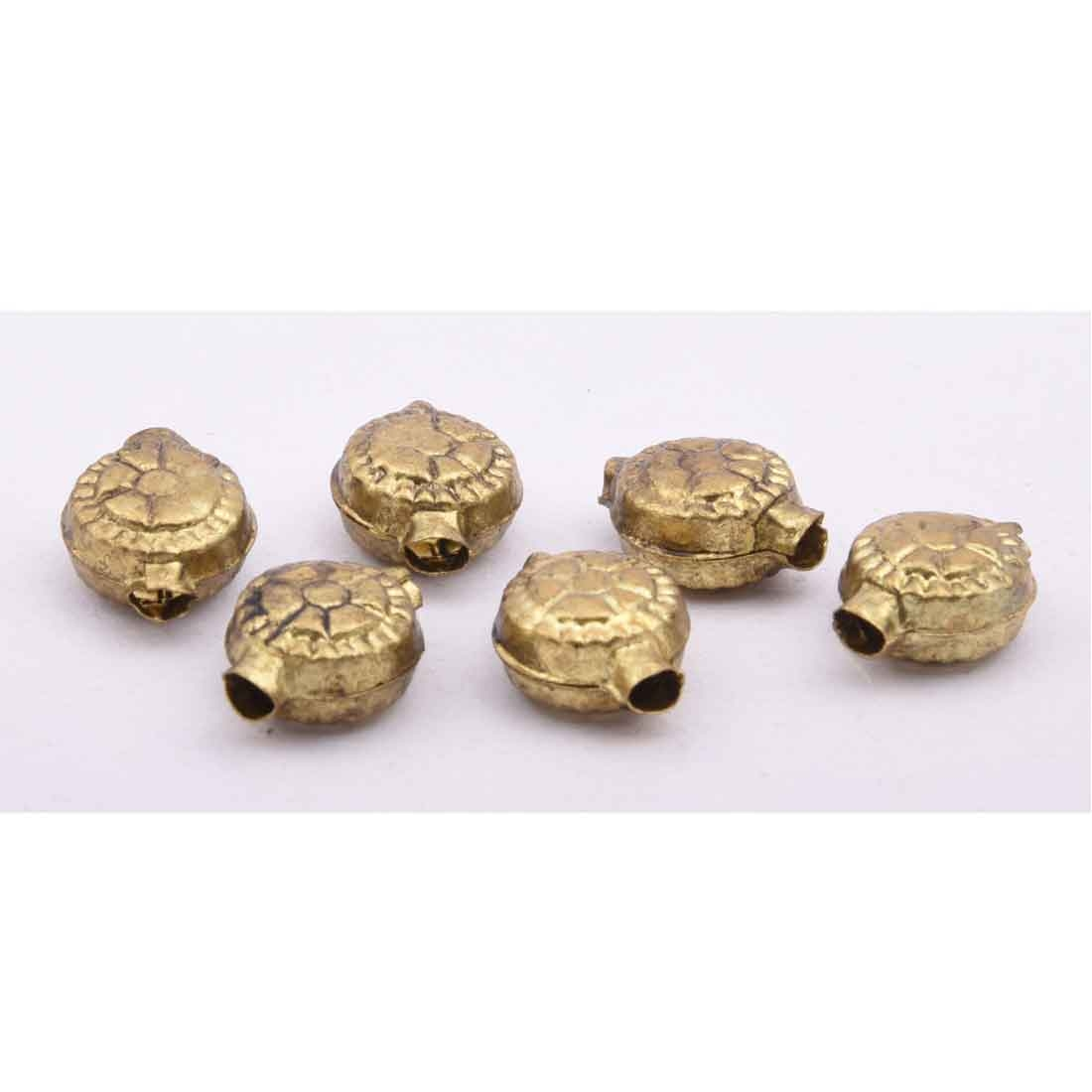 Beads India 1700048  Handcrafted Metal Beads/Discounts Above 500 pcs