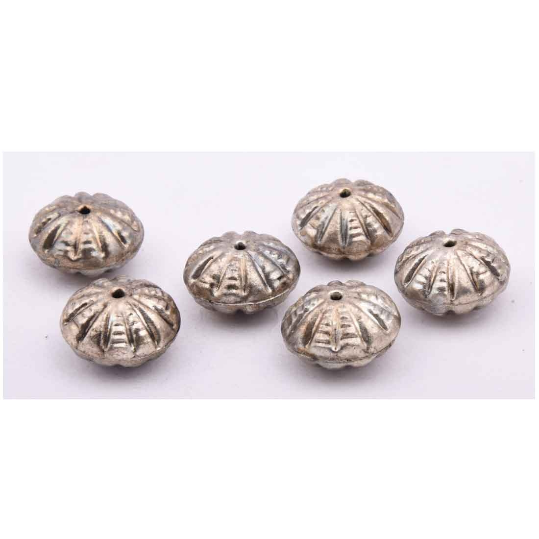 Beads India 1700053  Handcrafted Metal Beads/Discounts Above 500 pcs