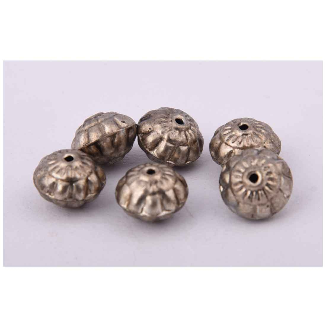 Beads India 1700060  Handcrafted Metal Beads/Discounts Above 500 pcs