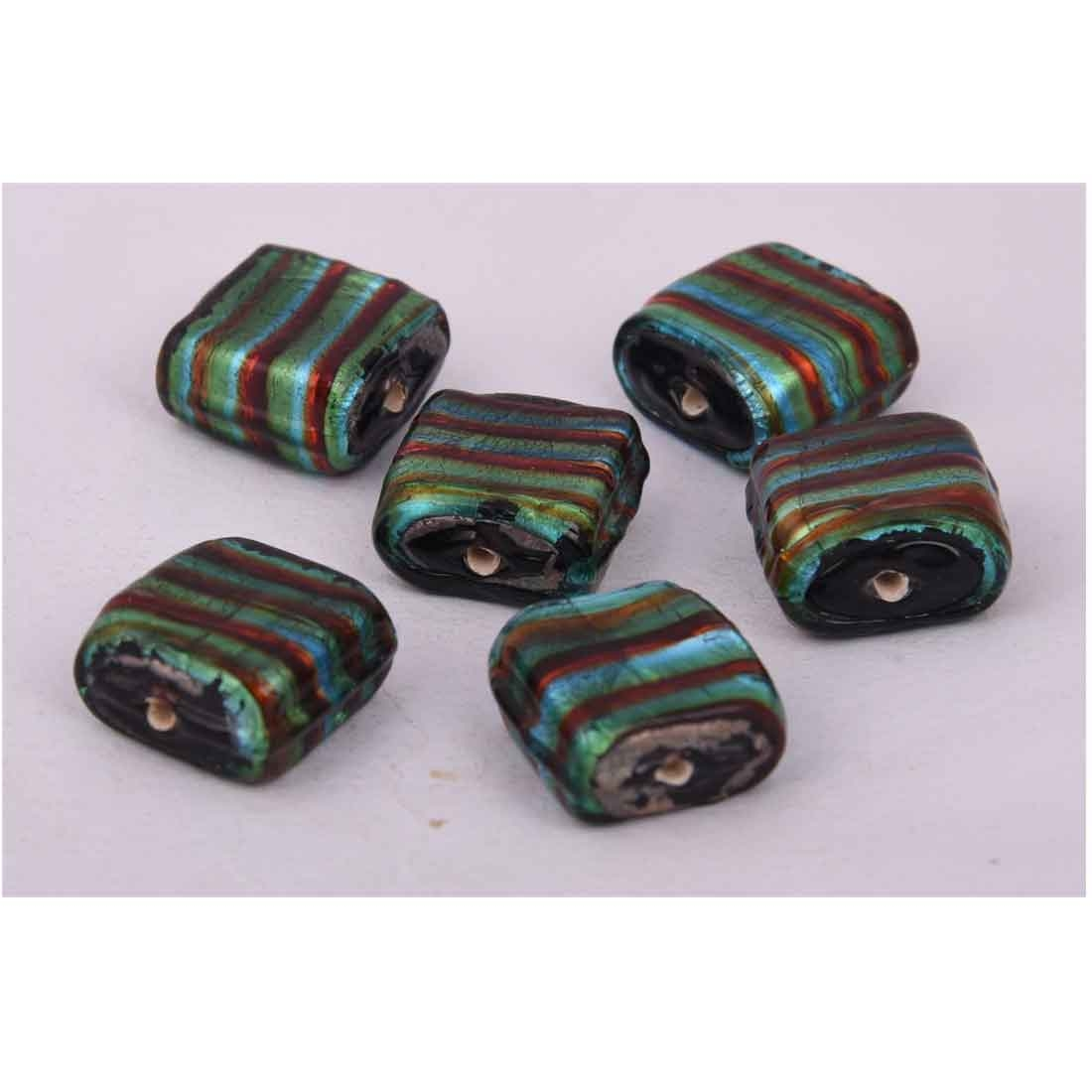 Beads India 1700070 Lampwork Handcrafted Glass Beads/Discounts Above 500 pcs