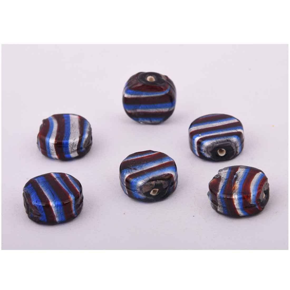 Beads India 1700079 Lampwork Handcrafted Glass Beads/Discounts Above 500 pcs