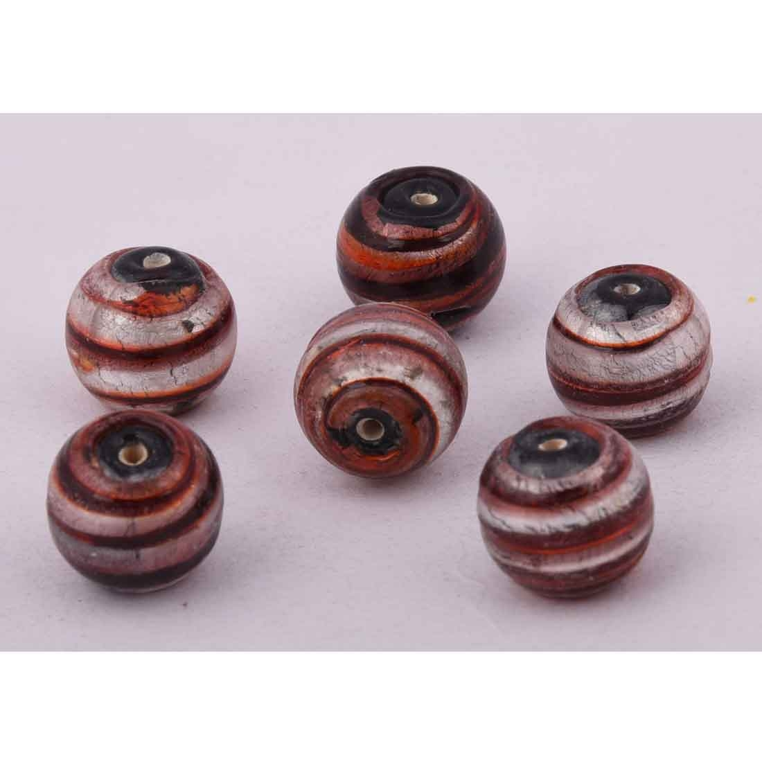 Beads India 1700080 Lampwork Handcrafted Glass Beads/Discounts Above 500 pcs