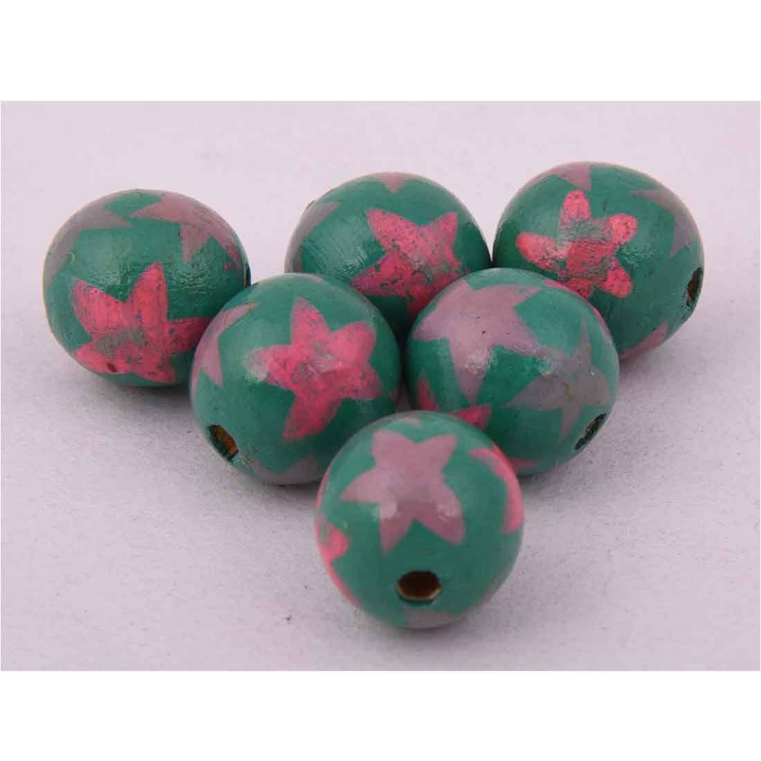 Beads India 1700083 Handcrafted Wooden Beads/Discounts Above 500 pcs
