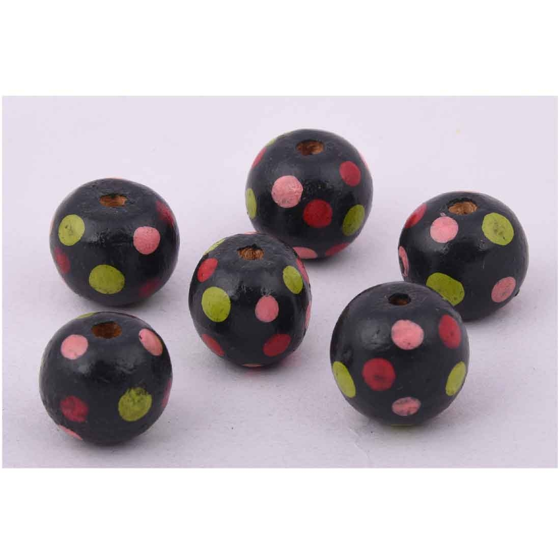 Beads India 1700084 Handcrafted Wooden Beads/Discounts Above 500 pcs