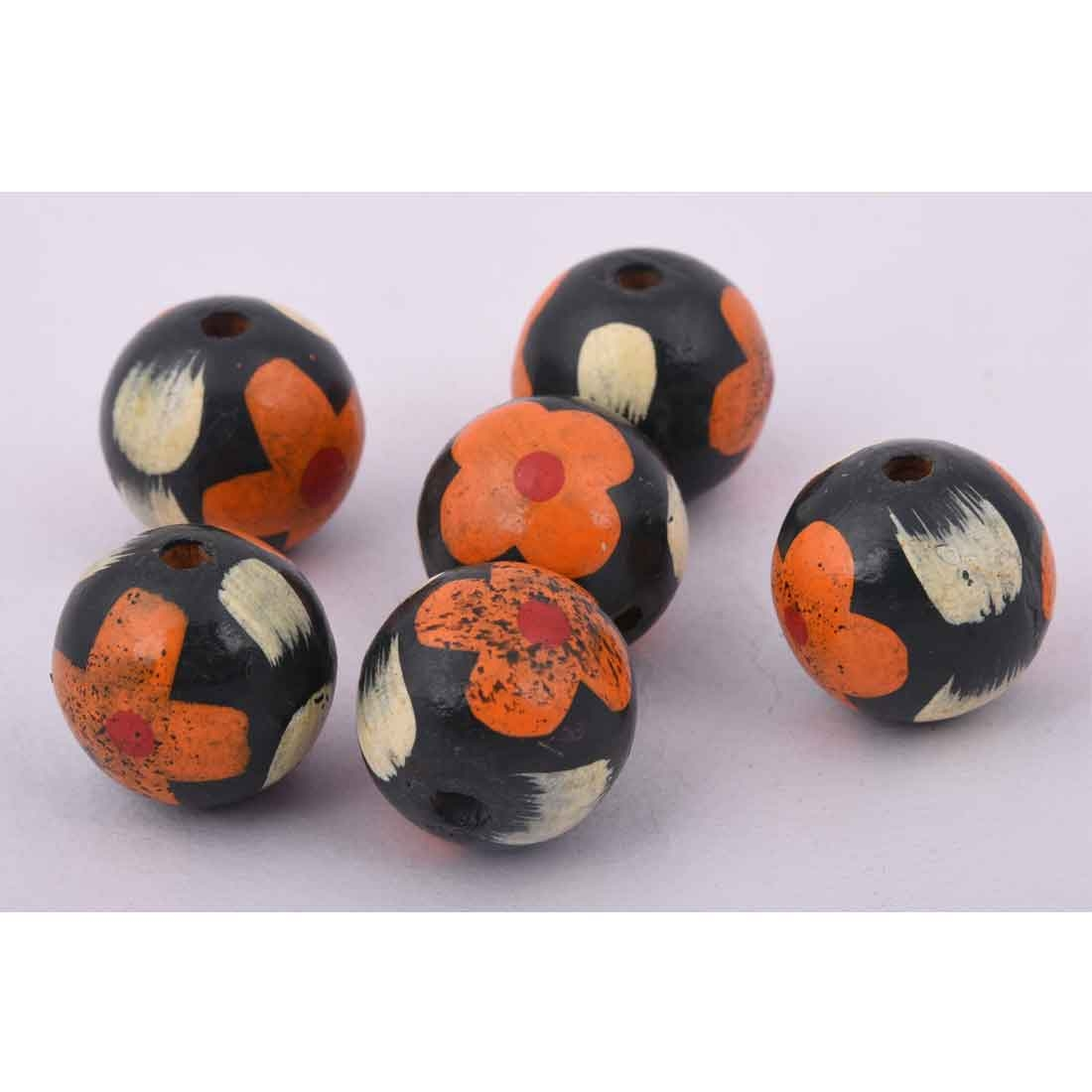 Beads India 1700085 Handcrafted Wooden Beads/Discounts Above 500 pcs