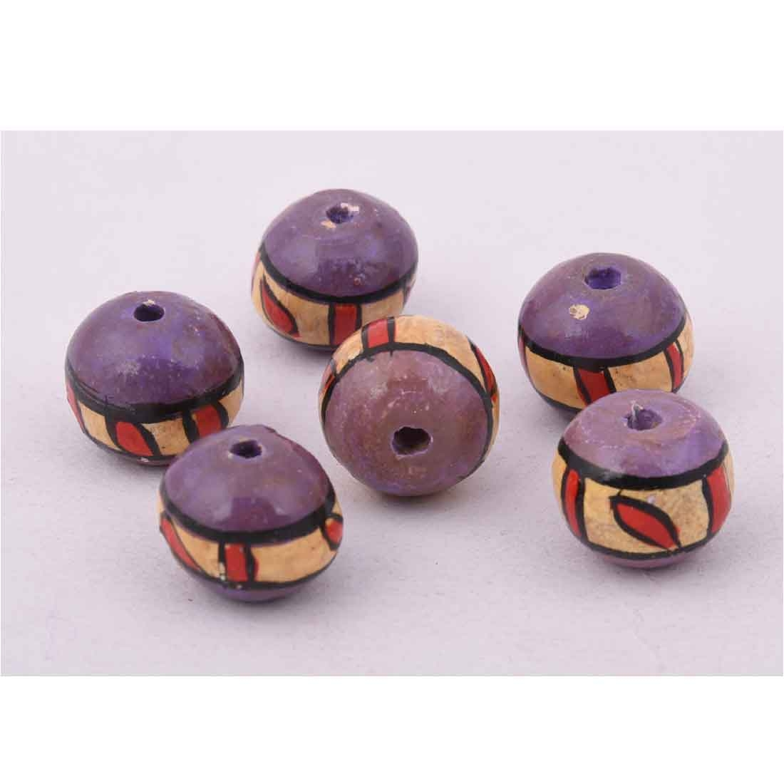 Beads India 1700086 Handcrafted Wooden Beads/Discounts Above 500 pcs