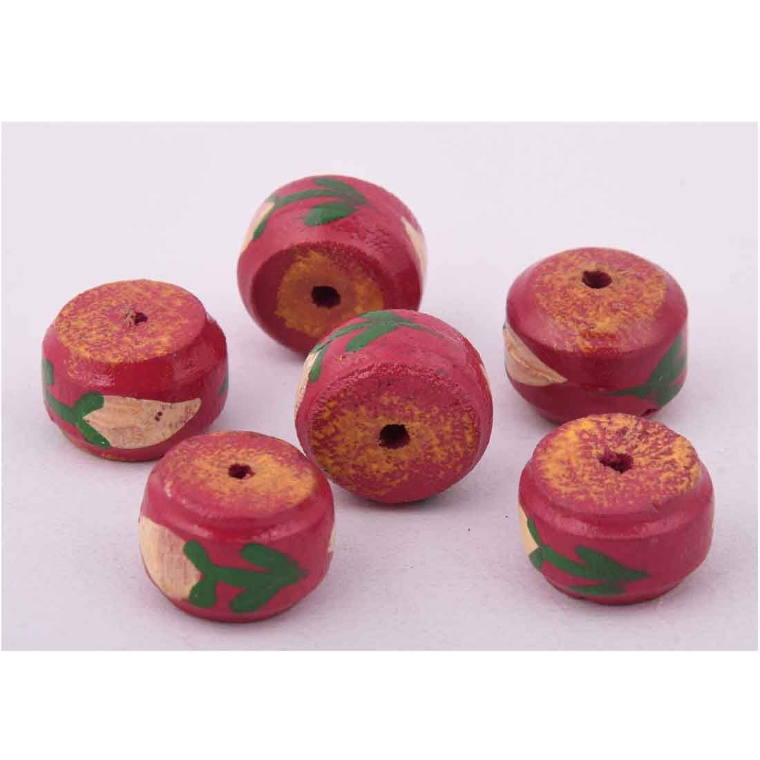 Beads India 1700088 Handcrafted Wooden Beads/Discounts Above 500 pcs