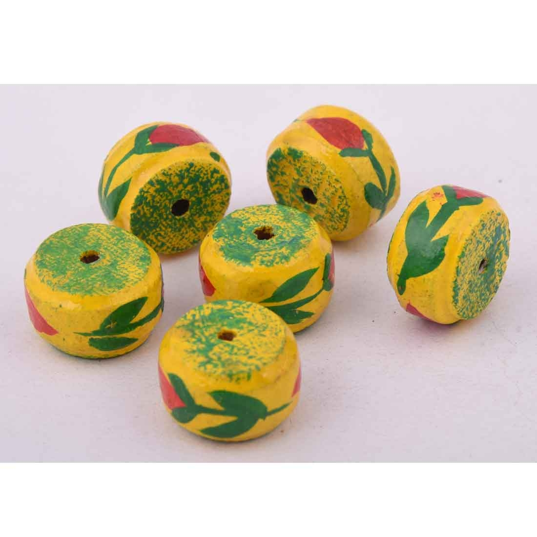 Beads India 1700089 Handcrafted Wooden Beads/Discounts Above 500 pcs
