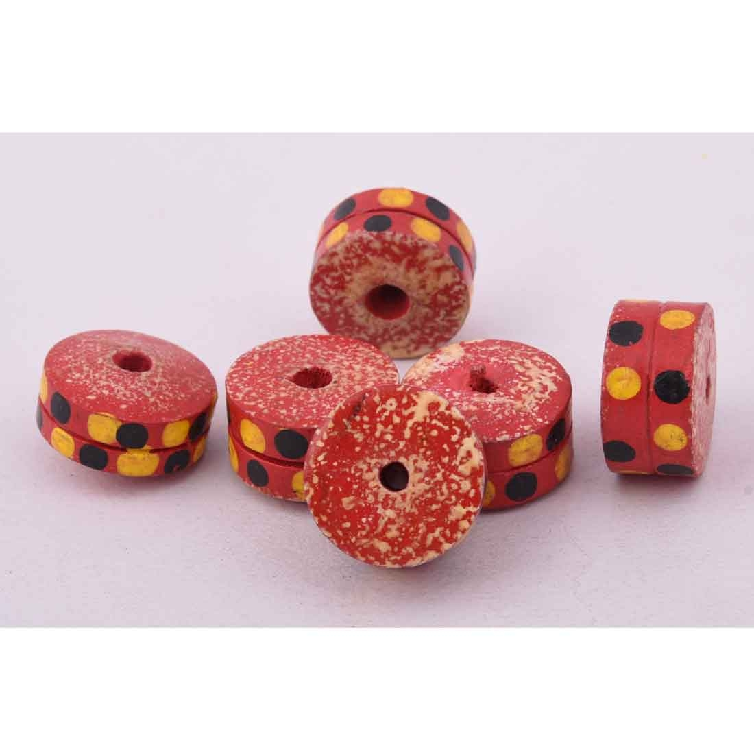 Beads India 1700090 Handcrafted Wooden Beads/Discounts Above 500 pcs