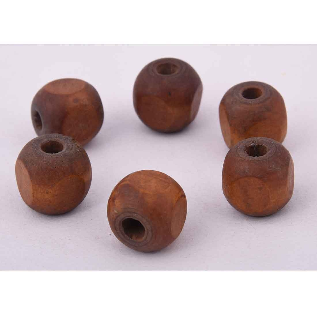 Beads India 1700092 Handcrafted Wooden Beads/Discounts Above 500 pcs