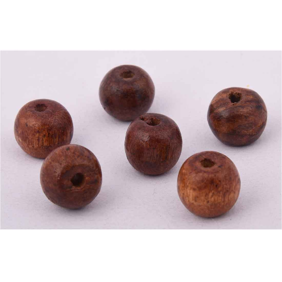 Beads India 1700093 Handcrafted Wooden Beads/Discounts Above 500 pcs