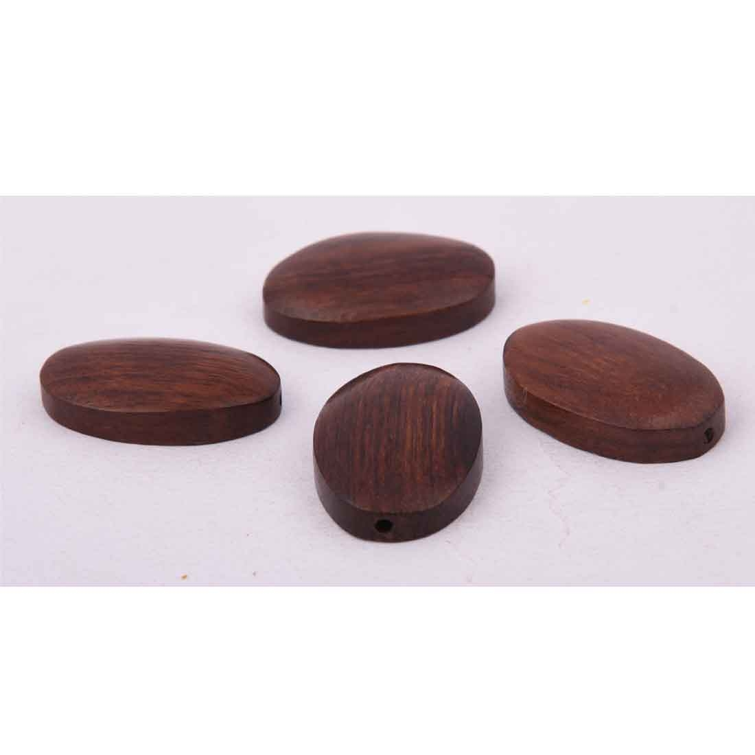 Beads India 1700095 Handcrafted Wooden Beads/Discounts Above 500 pcs