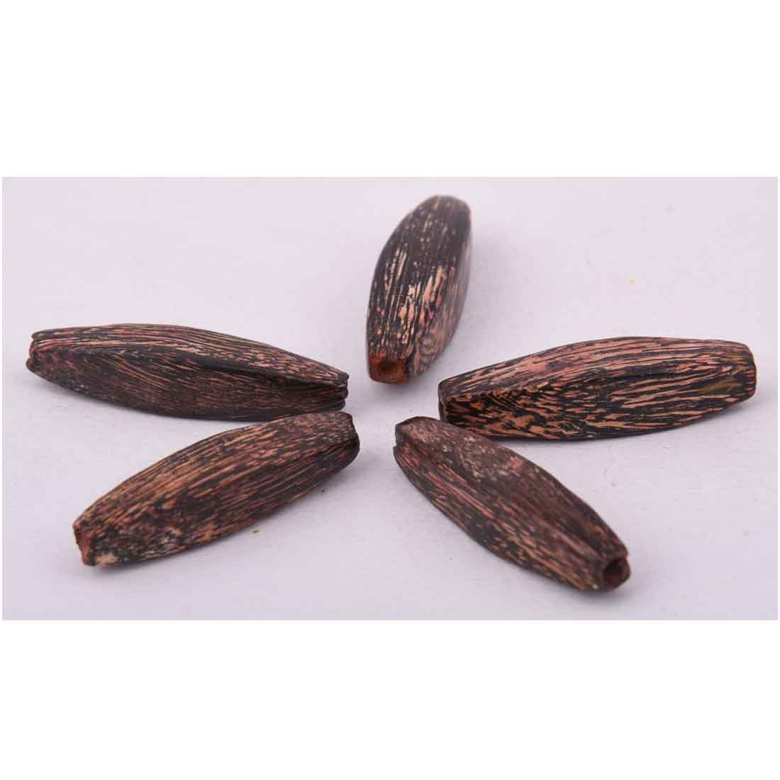 Beads India 1700098 Handcrafted Wooden Beads/Discounts Above 500 pcs