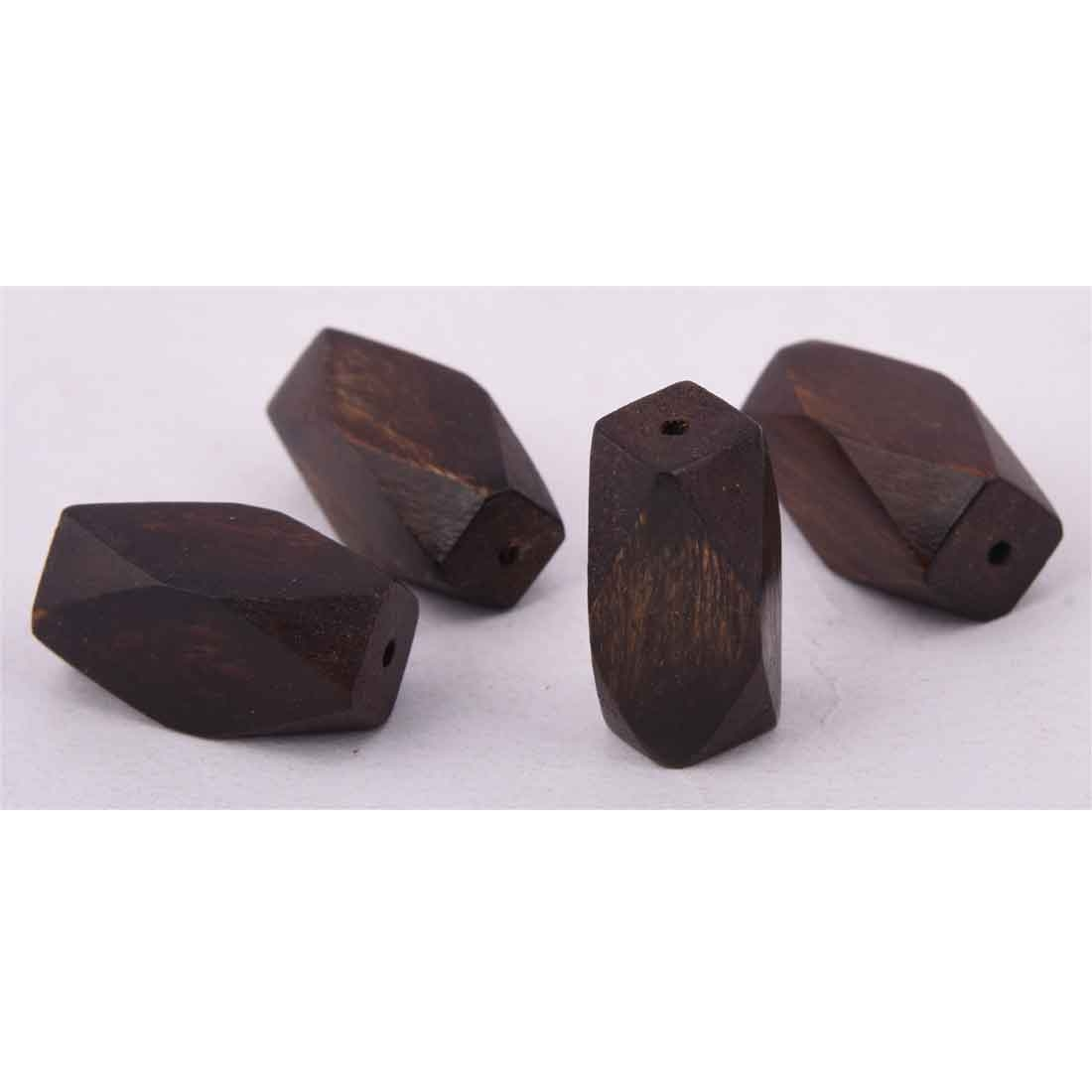 Beads India 1700099 Handcrafted Wooden Beads/Discounts Above 500 pcs