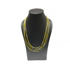 Beads India Misted Yellow 23102016 Necklace
