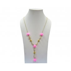 Beads India Candy Pink 23102016 Necklace