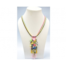 Beads India Orchid  03112016 Necklace