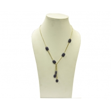 Beads India Shadow Purple  09112016 Necklace